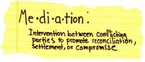 mediation definition