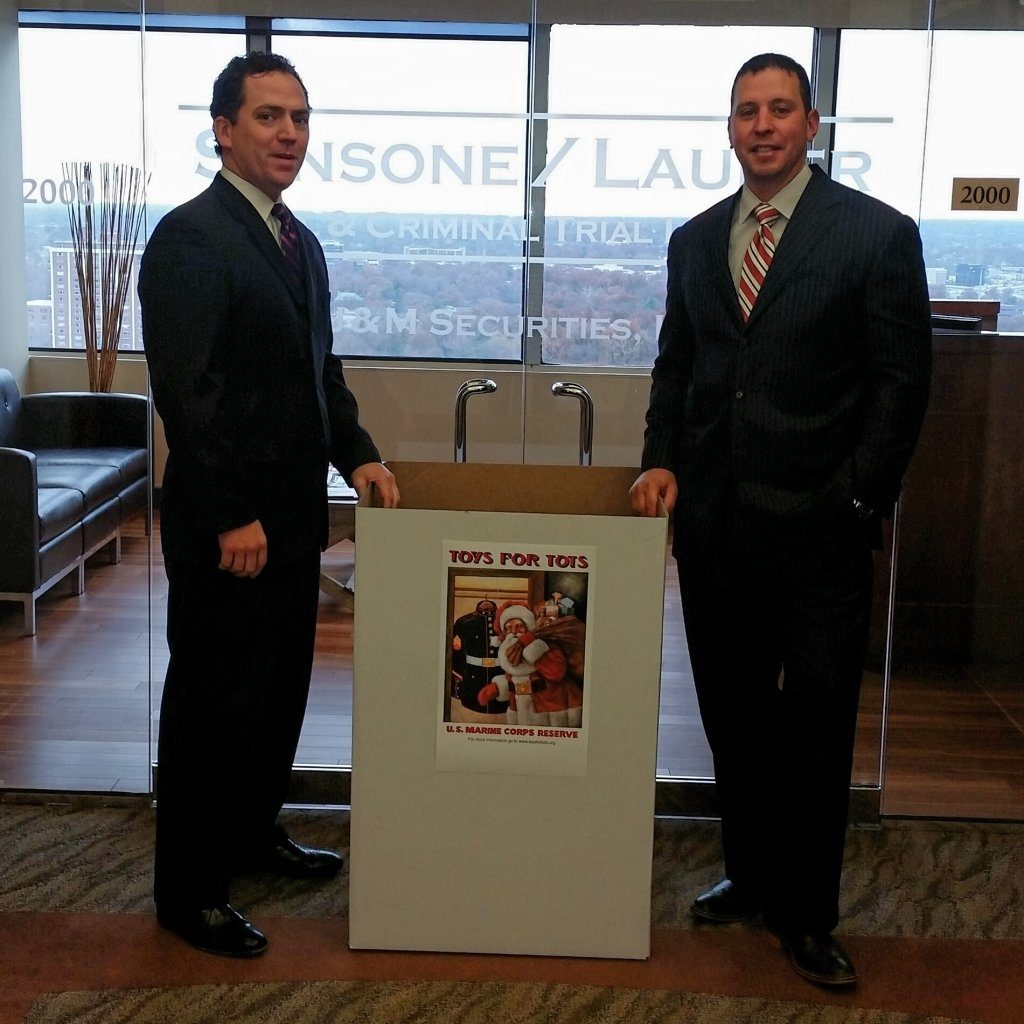 Sansone & Lauber Law Office Serves as Toys for Tots Drop-Off Center