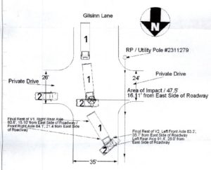 Intersection truck accident diagram st louis lawyer